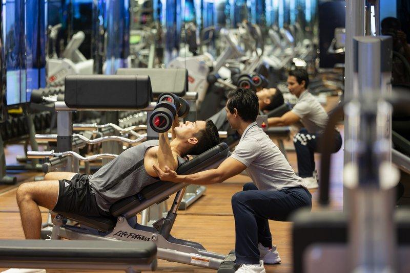 Modern Fitness Weight Lift Trainer