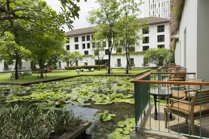 Balcony Lotus Pond