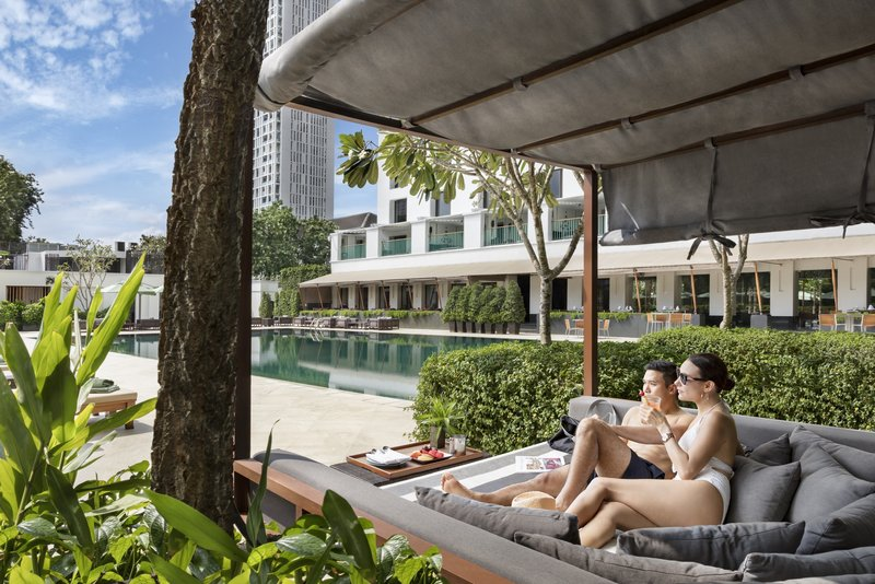 Sukhothai Living In Pool Cabana