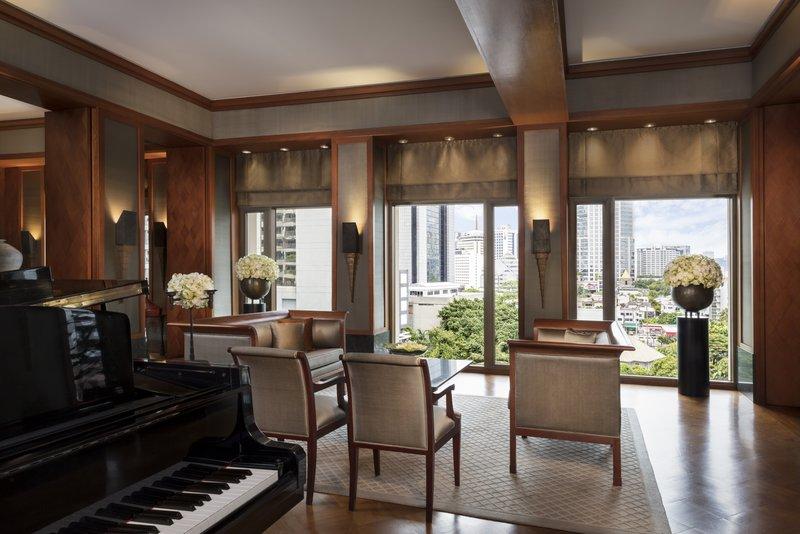 Sukhothai Suite Living Room City View