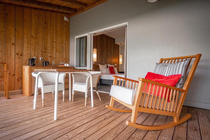 Ti Suite terrasse