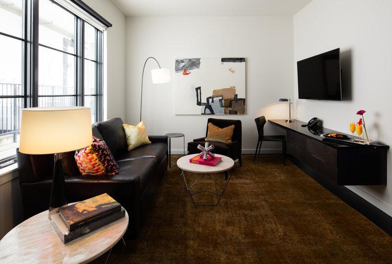Bunk Suite Living Area