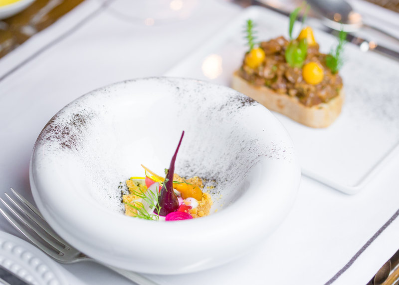 Dining at Ormer Mayfair