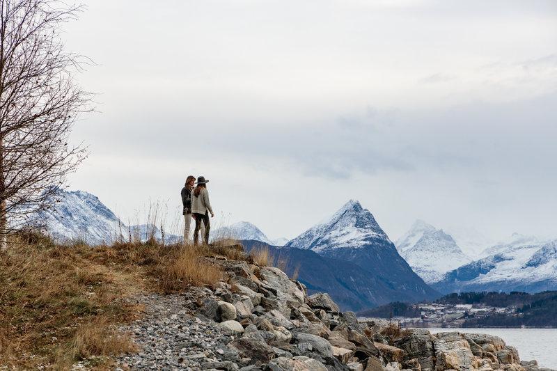 View Fjord Mountains