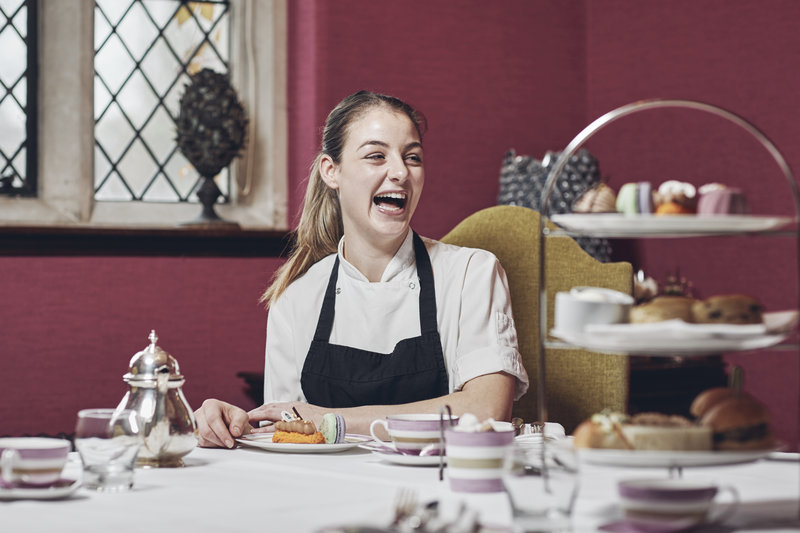 Pastry Chef with Afternoon Tea