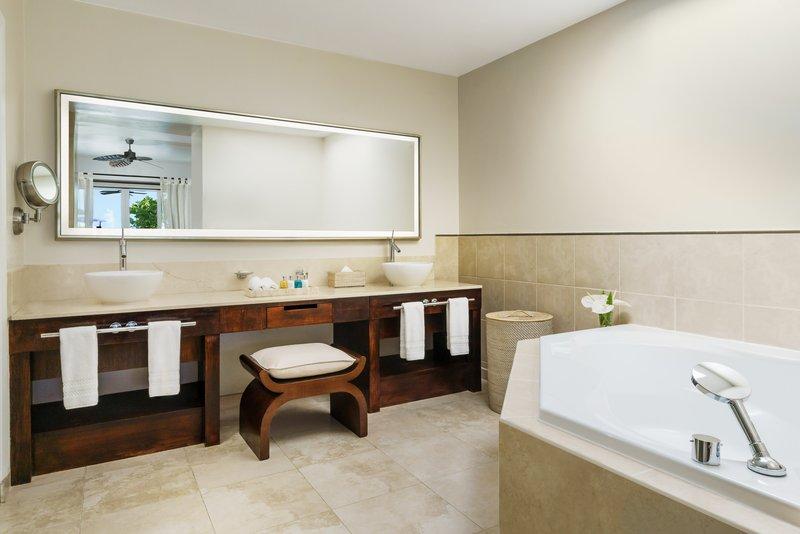 Royal Cinnamon Saffron Beach Suite Bathroom