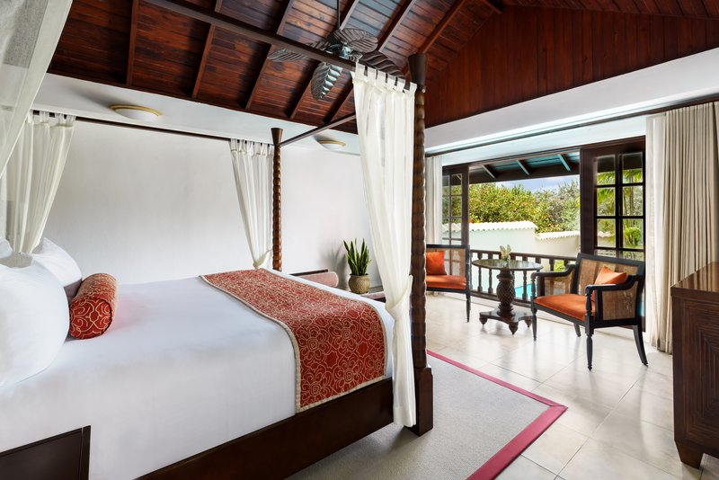 Royal Collection Pool Suite Bedroom