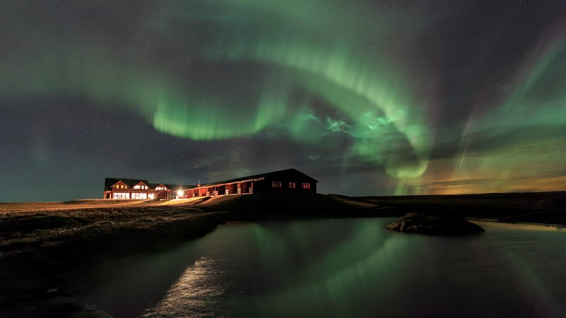 Northern Lights at Hotel Ranga