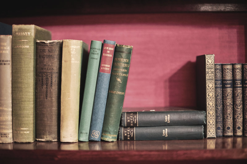 Books in the Drawing Room