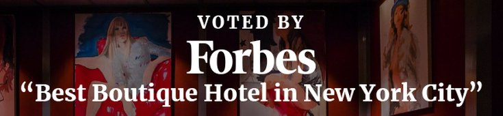 Forbes Best Boutique Hotel in NYC