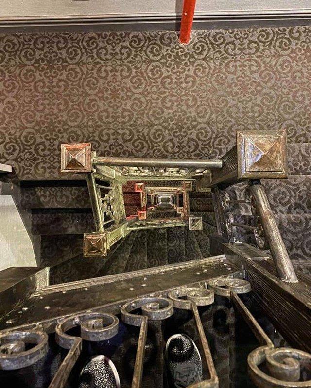 HGU Antique Staircase
