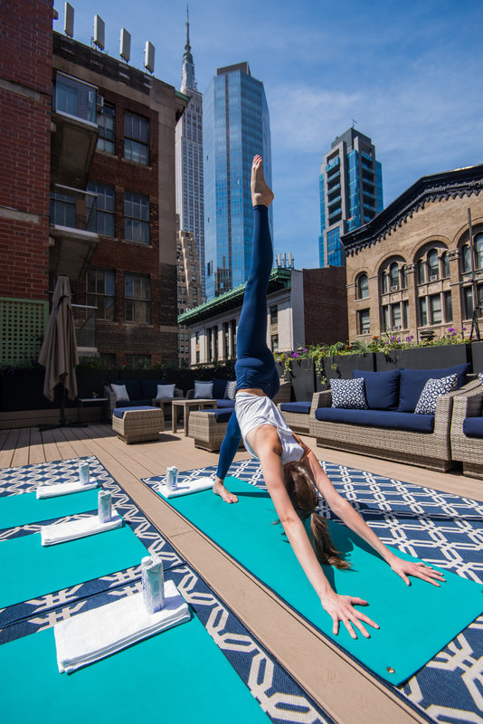 Seasonal Yoga on the Rooftop