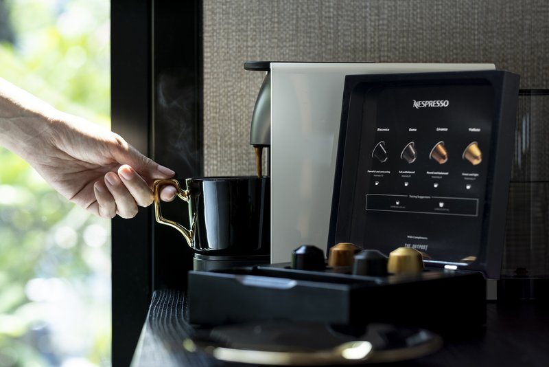 Nespresso Machine with Complimentary Capsules