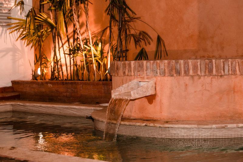Plunge pool at Casa del Pozo