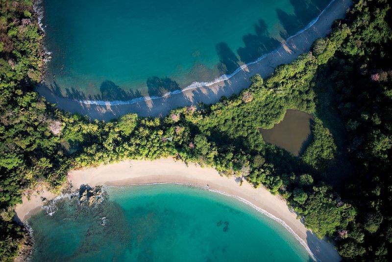 Manuel Antonio Aerial View