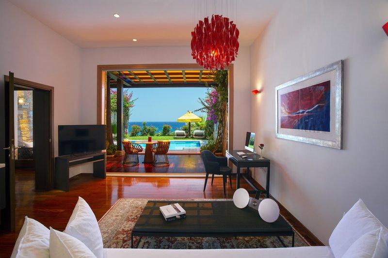Deluxe Spa Villa Living Room