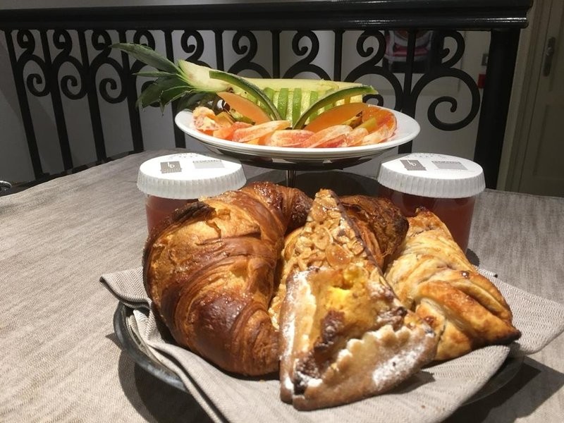 Breakfast Delivered In The Suite