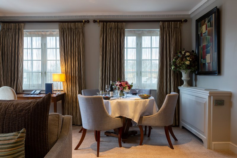 The Duke Of Clarence Suite for dinner