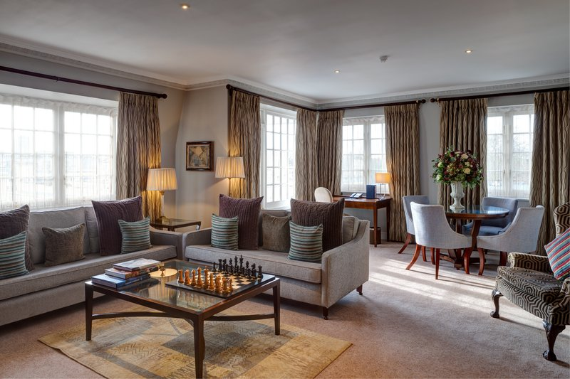 The Duke Of Clarence Suite - Living Room
