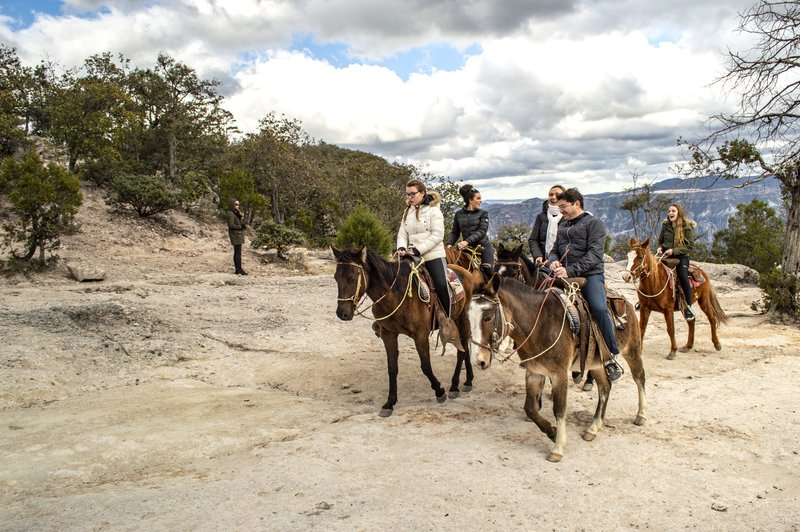 Experience the Copper Canyon on Horseback