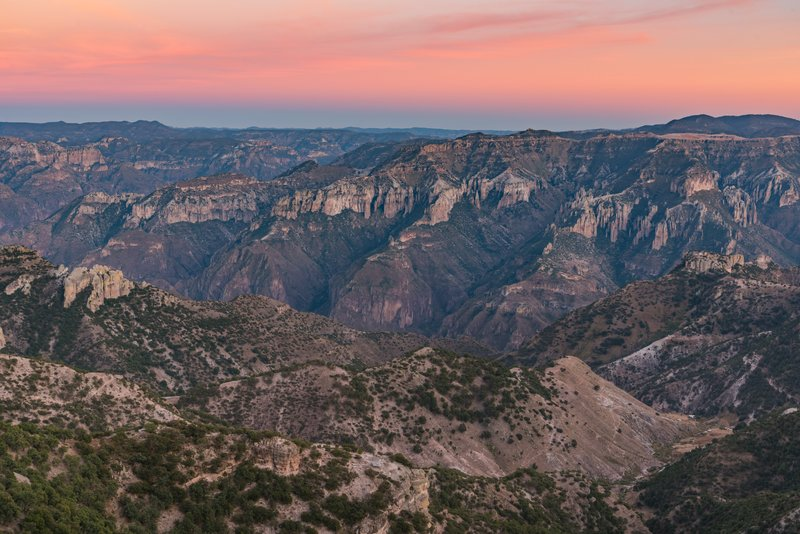 Copper Canyon Sunset