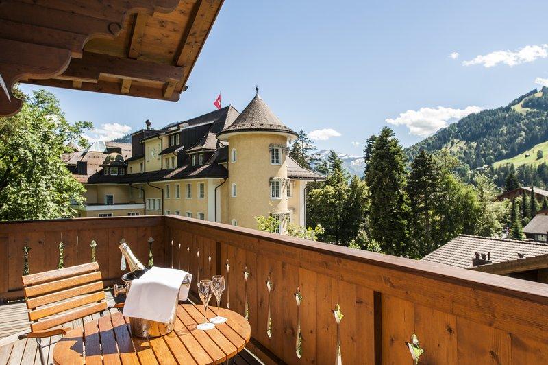 Suite Chalet balcony