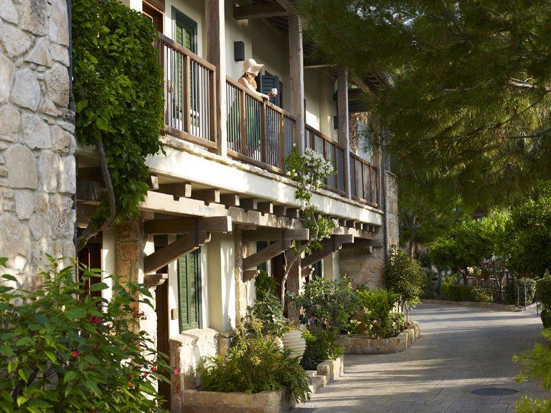 Junior Suites Garden View Entrance