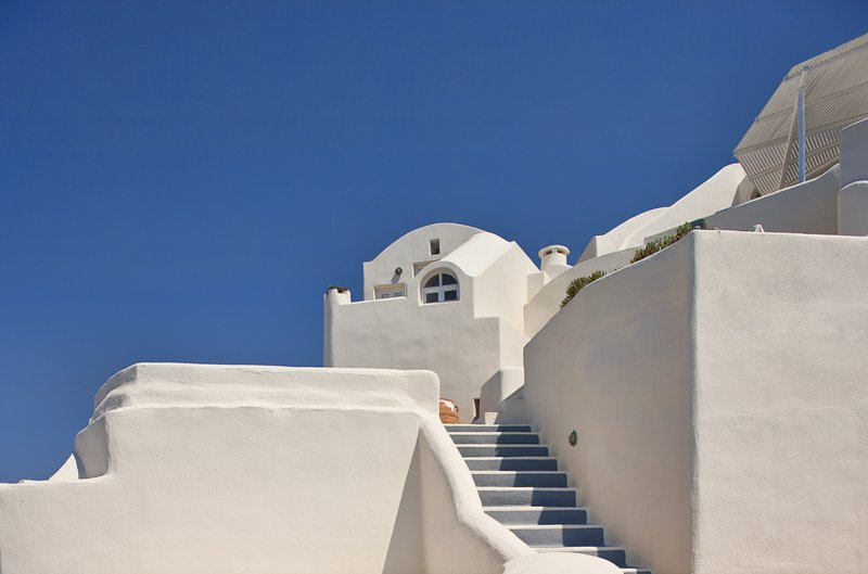 Canaves Oia Suites Architecture Views