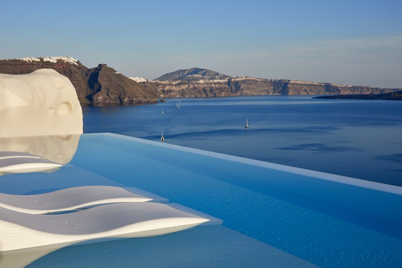 Canaves Oia Suites Infinity Pool