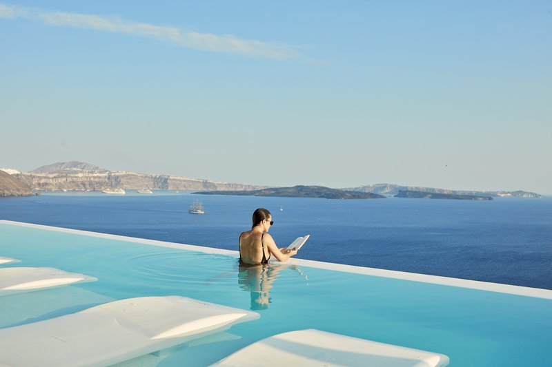 Canaves Oia Suites Infinity Pool Min