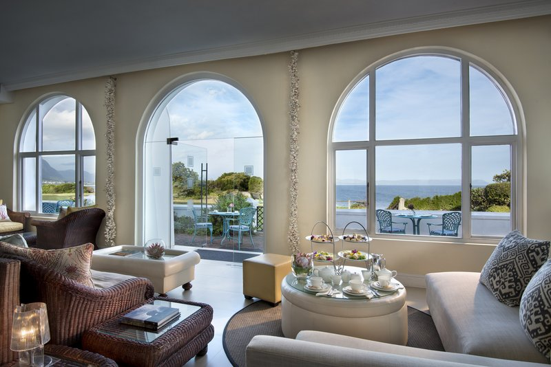Sun Lounge with ocean view - High Tea