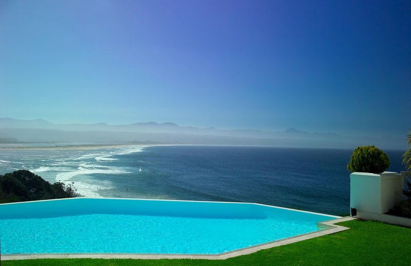Main Infinity Pool with ocean view