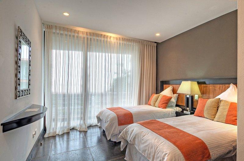 Rainforest Suite Two Twin bedroom