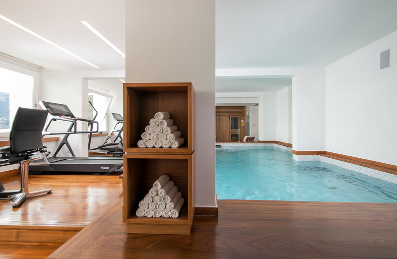 Fitness Room Indoor Pool