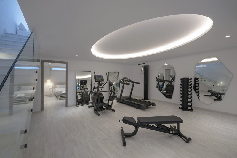 Eccentric 2 Bedroom Pool Suite_private gym
