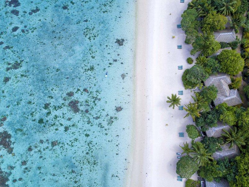 Premium Beachfront Aerial
