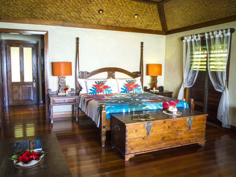 Premium Beachfront Bungalow Bedroom
