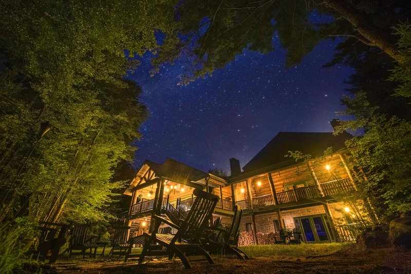 Trout Point Lodge Under The Stars