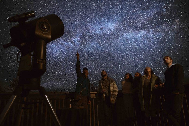 Amazing Astronomer Led Stargazing