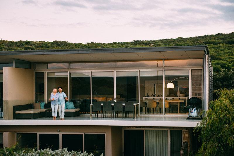 4 Bedroom Beach House From Beach Entrance