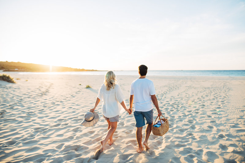 Couple on Smiths Beach Summer
