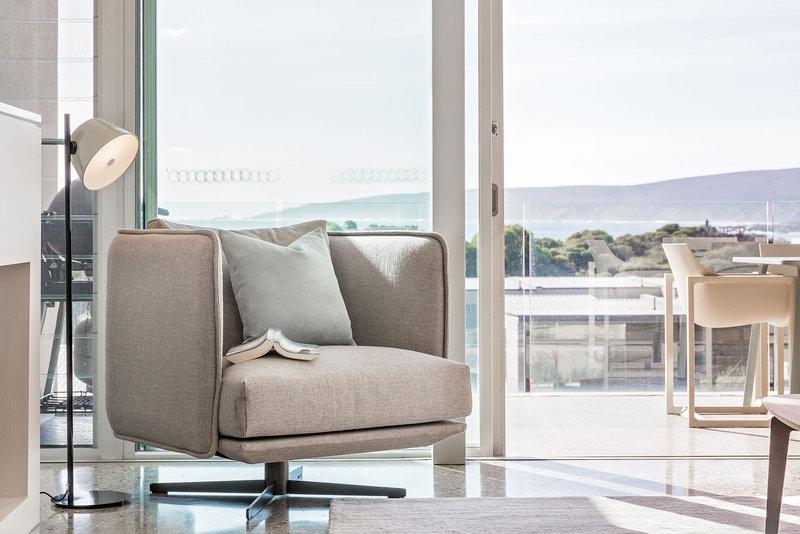 1 Bedroom Ocean View Villa Living Room