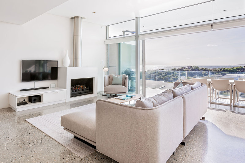 3 Bedroom Ocean View Villa Living