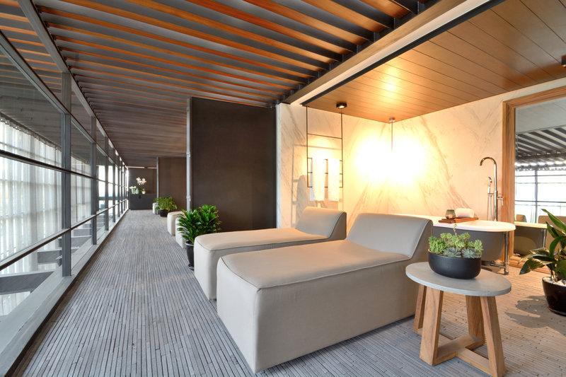Rooftop Suite Terraces Open