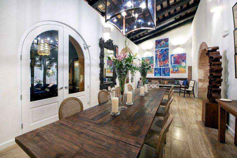 Casa del Pozo Dining Room