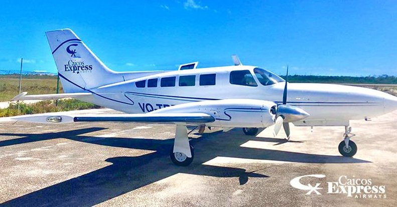 Private Charter Flight on Caicos Express
