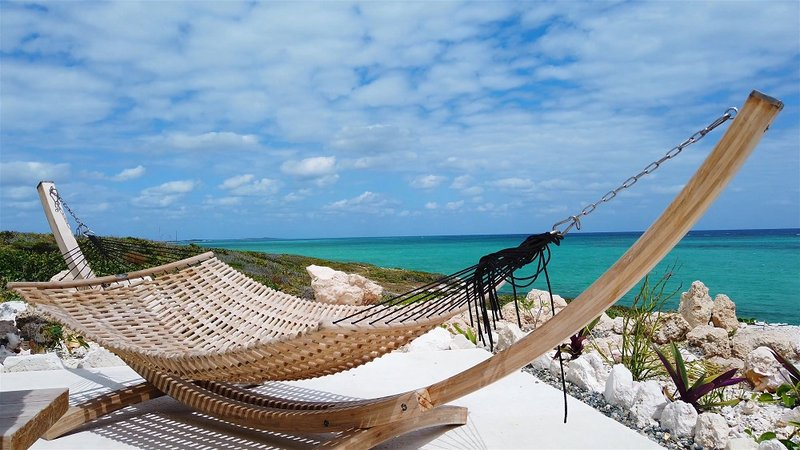 Oceanfront Coral Villa Hammock
