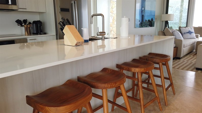 Oceanfront Coral Villa Kitchen