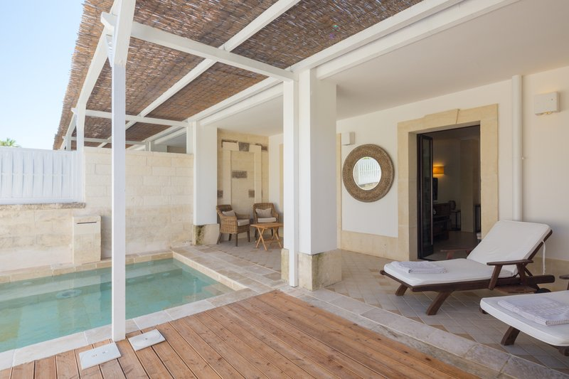 Master Suite - Patio With Plunge Pool