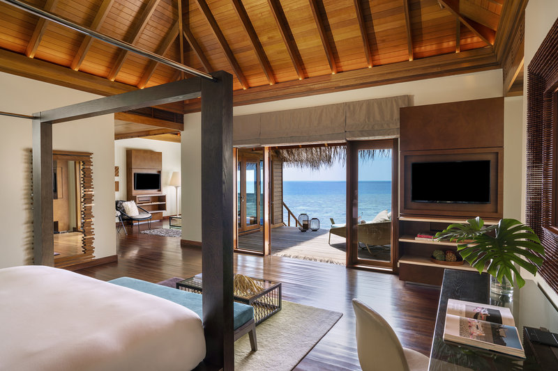 Ocean Bungalow With Pool - Bedroom View